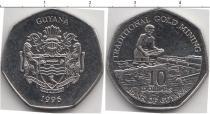 Каталог монет - монета  Гайана 10 долларов
