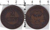 Каталог монет - монета  Гаити 2 цента