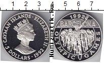 Продать Монеты Каймановы острова 5 долларов 1992 Серебро