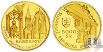 Каталог монет - монета  Словакия 5000 крон