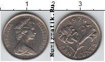 Каталог монет - монета  Бермудские острова 10 центов