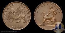 Каталог монет - монета  Ионические острова 1 фартинг