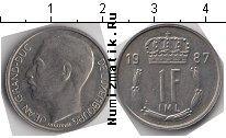 Каталог монет - монета  Люксембург 1 франк