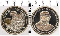 Каталог монет - монета  Маврикий 20 рупий