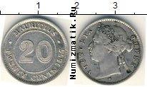 Каталог монет - монета  Маврикий 20 центов