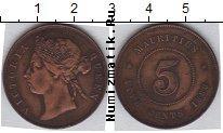 Каталог монет - монета  Маврикий 5 центов