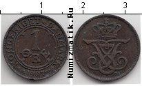 Каталог монет - монета  Дания 1 эре
