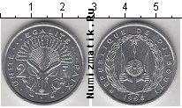Каталог монет - монета  Джибути 2 франка