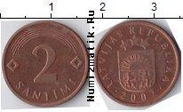 Каталог монет - монета  Латвия 2 сантима