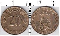 Каталог монет - монета  Латвия 20 сантим