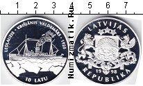 Каталог монет - монета  Латвия 10 лат