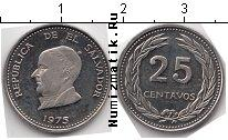 Каталог монет - монета  Сальвадор 25 сентаво