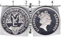 Каталог монет - монета  Олдерни 1 фунт