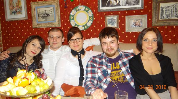 Сотрудники клуба Нумизмат: Мария Гаврилова, Виктор Чибриков, Юлия Евланова, Илья Габбасов, Валерия Кудрявцева