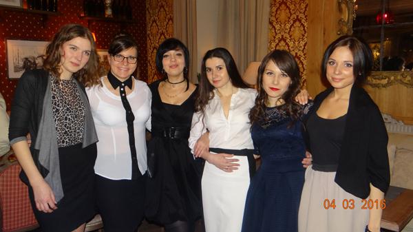 Сотрудники клуба Нумизмат: Самые красивые девушки
