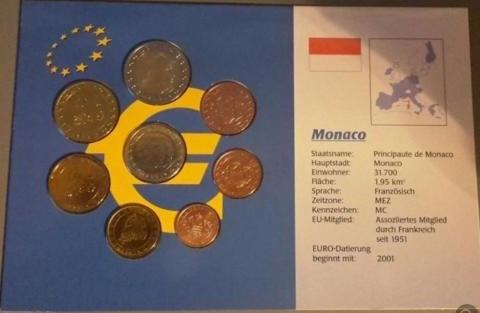 Предлагаю самые редкие комплекты евро в ЕЭС по лучшим ценам !(Найдете дешевле-обсудим!) 1. Монако 2