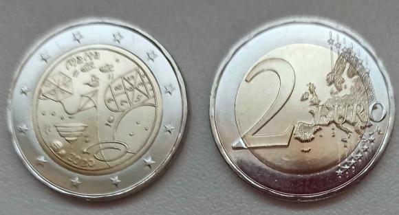 Внимание !  *Доставка в Москву и по России после получения монеты из Мальты и открытия прямого авиа