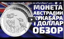 Видео: Инвестиционная серебряная монета Кукабара 1 доллар 2017 Австралия.