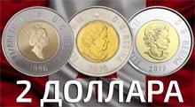 Видео: Канада монета 2 доллара Белый медведь