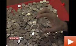 Смотреть Видео - Скупка монет 1, 2 и 5 рублей 2003 года