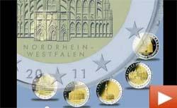 Смотреть Видео - Коллекционные монеты Германии 2011