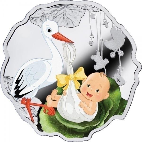 Картинки рождение ребенка аист