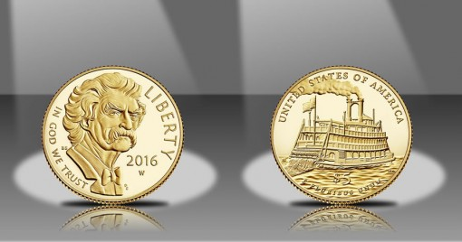 5 долларов Марк Твен