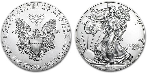 монета Американский орёл