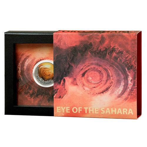 Фото «Глаз Сахары» на мон