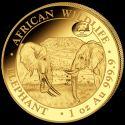 Читать новость нумизматики - Слоны на золотых монетах