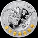 Читать новость нумизматики - Монета-талисман Польши «Год Козы» 2015 год
