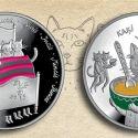 Читать новость нумизматики - В Латвии появятся монеты «Пять котов» в новой серии «Сказки»