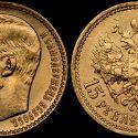Читать новость нумизматики - 15 рублей Николая II - самая подделываемая монета 2019
