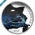 Читать новость нумизматики - Серебряные монеты Канады «Сухогруз «Эдмунд Фицджеральд»»