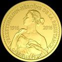 Читать новость нумизматики - Бельгия посвятила памятную монету героине войны Габриэль Пети