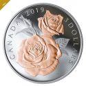 Читать новость нумизматики - Красивая монета с розами из Канады