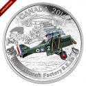 Читать новость нумизматики - Новая монета Канады посвящается воздушному флоту в годы Первой мировой войны