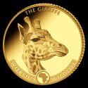 Читать новость нумизматики - Золотые монеты Конго с жирафом