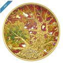 Читать новость нумизматики - Золотые монеты Канады «Кленовый купол: Калейдоскоп цветов» 2016