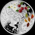 Читать новость нумизматики - Серебряная монета «Обезьянье дерево», Ниуэ, 1 доллар