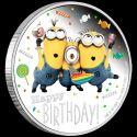 Читать новость нумизматики - Миньоны поздравляют с днем рождения