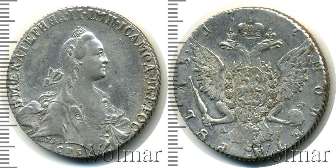 Монета екатерина 2 серебро цена монетшоп аукцион