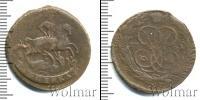 Монета 1741 – 1761 Елизавета Петровна 1 копейка Медь 1761