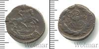 Монета 1762 – 1796 Екатерина II 1 полушка Медь 1796