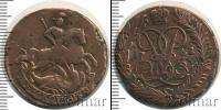 Монета 1741 – 1761 Елизавета Петровна 2 копейки Медь 1761