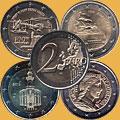 Монеты Евросоюза 2 евро
