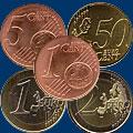 Монеты евро регулярной чеканки