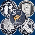 Монеты Евросоюза 10 евро