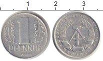 Изображение Монеты ГДР 1 пфенниг 1962 Алюминий XF- А