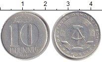 Изображение Монеты ГДР 10 пфеннигов 1973 Алюминий XF-